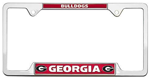 AMG Auto Emblems All Metal NCAA Mascot License Plate Frame (Georgia)