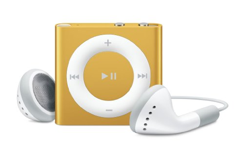 Apple iPod shuffle 2 GB Orange (4th Generation) (Discontinued by Manufacturer)