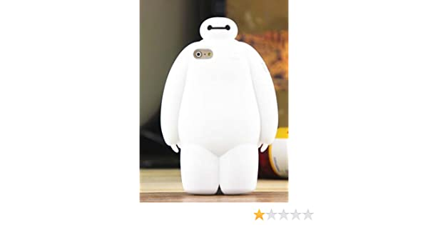 separation shoes 6d375 28760 iPhone 6 Case, 3D White Big Hero 6 Baymax Robot Silicone Soft Case ...