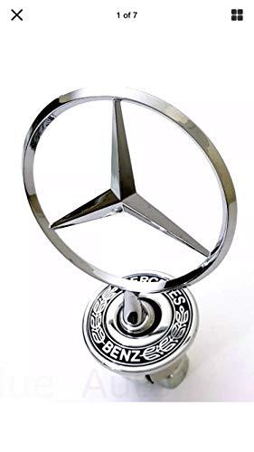 Mercedes-Benz Star Hood Logo Emblem Badge 3D w210 w202 w203 C200 w211 silver