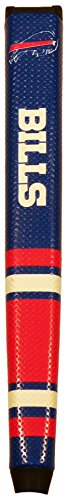 Team Golf NFL Buffalo Bills Golf Putter Grip with Removable Gel Top Ball Marker, Durable Wide Grip & Easy to Control