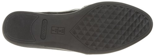 Aerosol Donna Slip Setter Slip-on Mocassino In Pizzo Nero