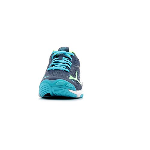 Mizuno Wave Lightning Z4, Scarpe da Pallavolo Uomo bleu marine/vert gecko/bleu turquoise