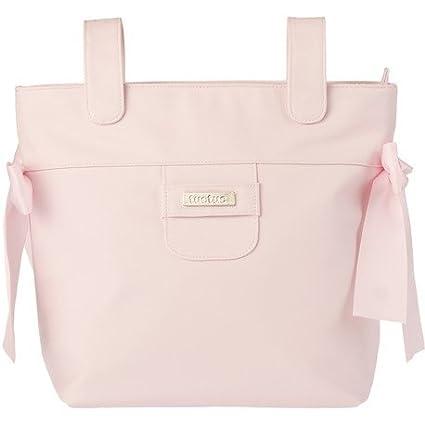 Tuc Tuc 08742 - Bolso panera + cambiador, diseño óvalo rosa ...