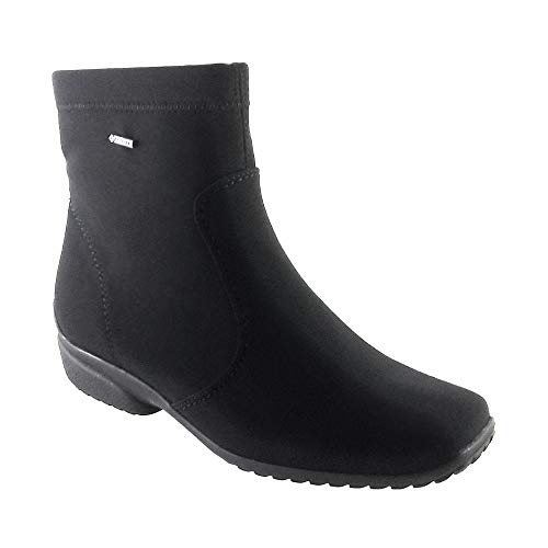 40911 Tex 12 Stretch Boot Black Gore ara Portofino Ankle x7wvgga