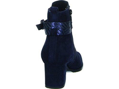Femme 25057 Bleu Bottines Boots Marine TAMARIS Hvxwt77n