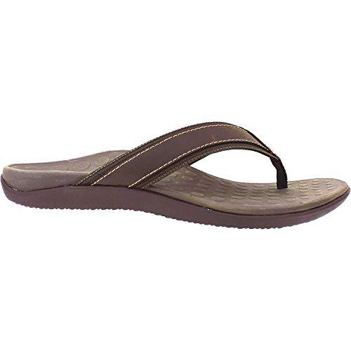Vionic Men's, Tide flip Flop Sandals Brown 7 M