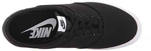 Nike Womens Mini Sneaker Blonder Lerret Svart / Hvit