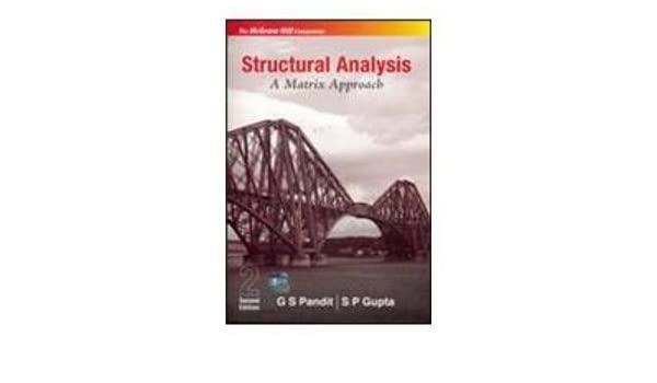 Buy Structural Analysis, A Matrix Approach Book Online at