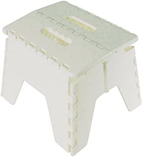 Foldable Folding Sturdy Step Stool Home Kitchen Garage Carry Handle In 5 Colours White  sc 1 st  Amazon UK : ikea stool step - islam-shia.org