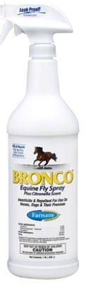 Farnam Bronco Equine Fly Spray 32 Oz Gal