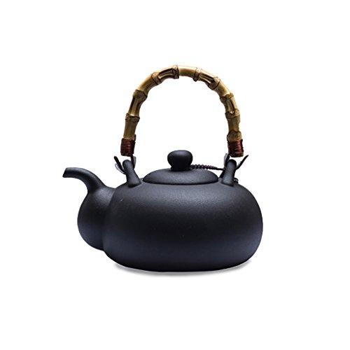 YONGJUN Ceramic Teapot - 1L - Rock Kettle, Brewing Teapot, O