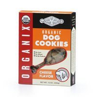 Organix Organic Dog Cookies, Cheese 12 oz(case of 8) by Castor & Pollux (Pack of 3) by Organix