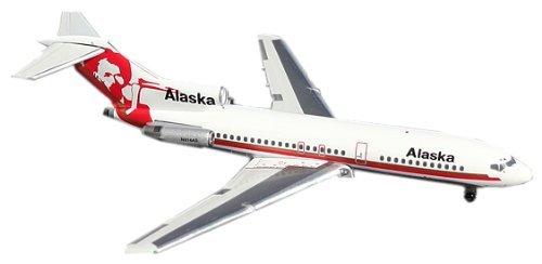 Gemini Jets 1/400 727-100 Alaska Airlines N314AS (100 Alaska Airlines)