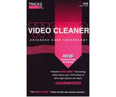 TRACKMATE TM265 Wavetape VHS Video Tape Path Cleaning Cassette by Trackmate