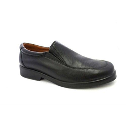 MADE IN SPAIN Zapato Camarero Sin Cordones Danka EN Negro T1547