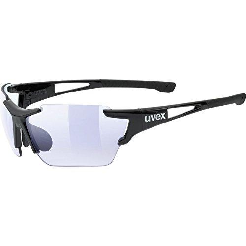 Uvex Sportstyle 803 Race VM Sunglasses Black, One Size - - Sunglasses Photochromic Uvex