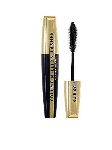 L'Oréal Paris Volume Million Lashes Extra Black Mascara, schwarz - Wimperntusche für extra Definition und extra Volumen in tiefem Schwarz - 1er Pack (1 x 9 ml)