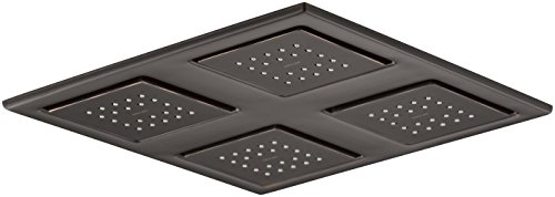 KOHLER K-98740-2BZ Showering Panel with 4 22-Nozzle Sprayheads, Oil-Rubbed Bronze ()