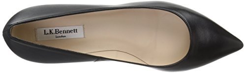 LK BENNETT Women's Audrey Closed-Toe Pumps Black 7TrXBRGy