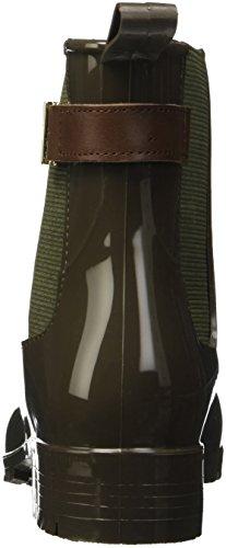 Hilfiger O1285xley Verde military Tommy Hautes 203 Femme Baskets Vert 7r PqRd5