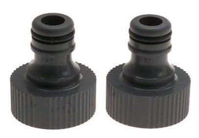 Gardena Faucet Tap Connector (2) by Gardena