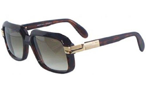 Cazal 607-080 SG Square Sunglasses,Tortoise Frame/Brown Gradient Lens,56 - Cazal Frames Vintage