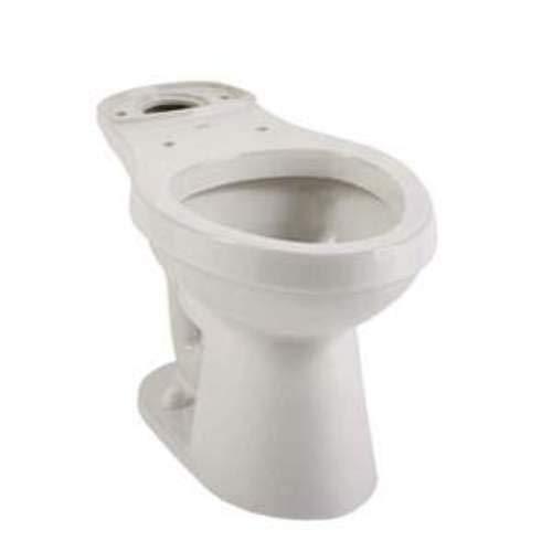 Mirabelle MIRBD240ECWH Bradenton Ecoclean Elongated Toilet Bowl Only ()
