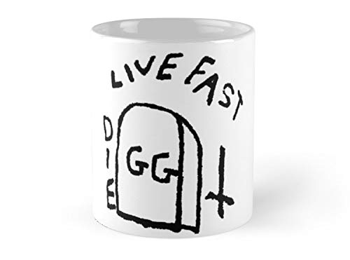 Allin Live Fast Die Tattoo 11oz Mug ()