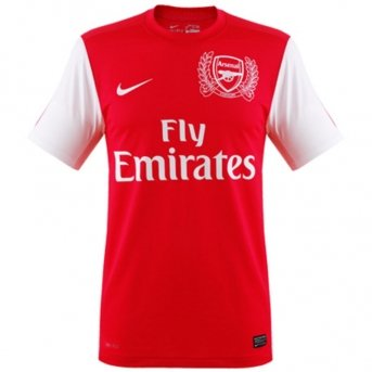 (Nike Arsenal Replica Home Soccer Jersey 2011-12 Extra Large)