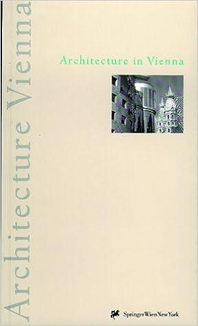 Architecture in Vienna: A Publication of the Stadtplanung, Wien, Magistratsabteilung 18 and Magistratsabteilung 19