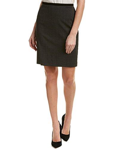Elie Tahari Wool Skirt - Elie Tahari Womens Wool-Blend Pencil Skirt, 6, Grey