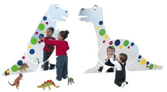 DINO MIRROR DUO by Children's Factory