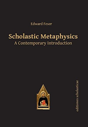 Book cover from Scholastic Metaphysics: A Contemporary Introduction (Scholastic Editions – Editiones Scholasticae) by Edward Feser