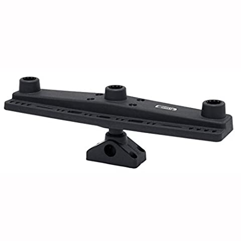 Scotty Triple Rod Holder Board only (No Rod Holders) Includes Post Bracket and Mount by Scotty - Scotty Triple Rod Holder