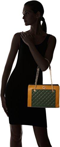 mujer Bolso rigido hombro kaki LOLA talla de CASADEMUNT Bolso acolchado para Única color FR5x8