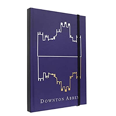 Downton Abbey Journal - Large Diary with Silhouette Logo - 6