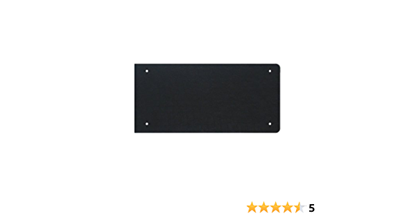 7 3//8 X 40 Cast Iron Kick Plate with Rough Textured Finish