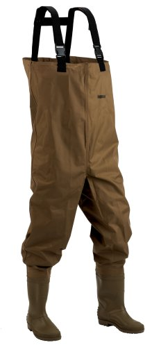 Hodgman Mackenzie Nylon/PVC Chest Wader With Cleated Soles, 12