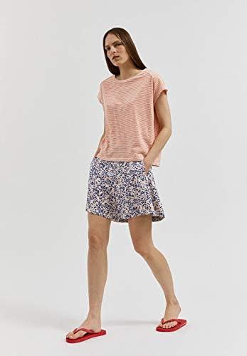 ARMEDANGELS damska koszulka z bio-bawełny – OFELIAA Pretty Stripes – 100% bawełna (bio) koszulka z krÓtkim rękawem: Odzież