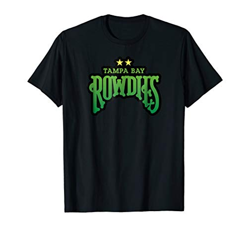 - Tampa Bay Sports Soccer Rowdies Football Club T Shirt
