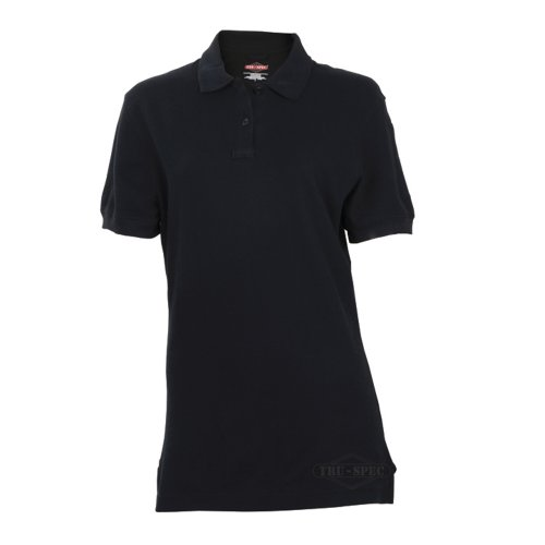 TRU-SPEC Polo Shirt, 24-7 Women's Classic 100% Cttn S/black, - For Discount Sunglasses Law Enforcement