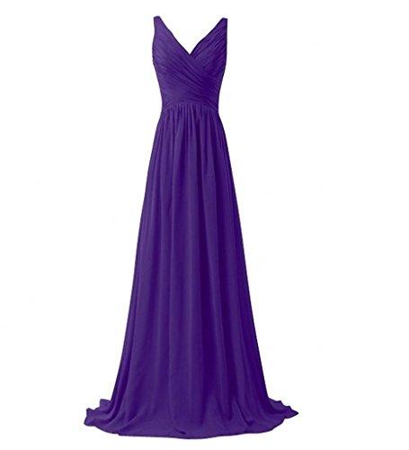 Milano Bride Einfach Vausschnitt Zweitraeger Abendkleider ...