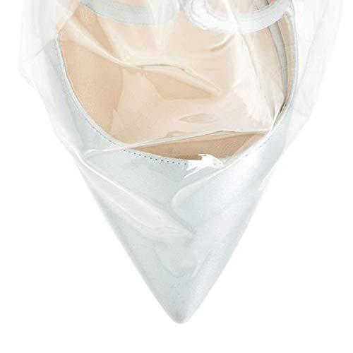 Ponerse 10CM Arraysa de Mujer Zapatos tac Puntiaguda Qaico Punta nqgqvX