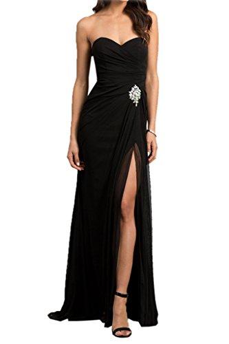 Missdressy - Vestido - trapecio - para mujer negro