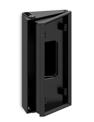 Adjustable ( 25 to 45 Degree) Angle Mount for Ring Wi-Fi Enabled Video Doorbell, Myriann Angle Adjustment Adapter Mounting Plate Bracket Wedge Kit (Doorbell NOT included)