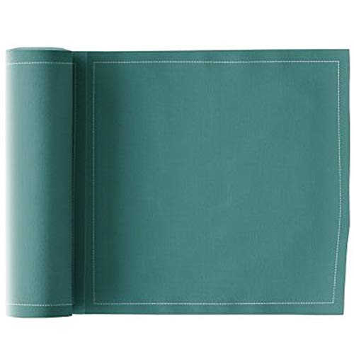 MY DRAP Luncheon Napkins, Cotton, Caribbean Green, 25 Units