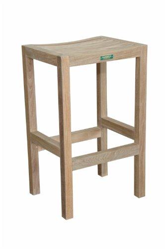 - Anderson Teak CHB-404N - No Cushion New Montego Backless Bar Chair