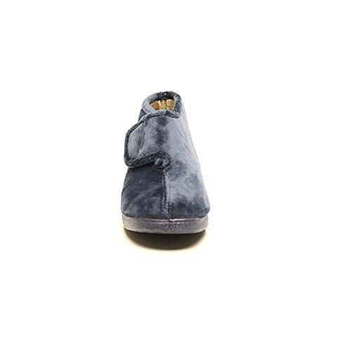 544 Terciopelo Bota Velcro Marino Cutillas Doctor 6qzn0Af0