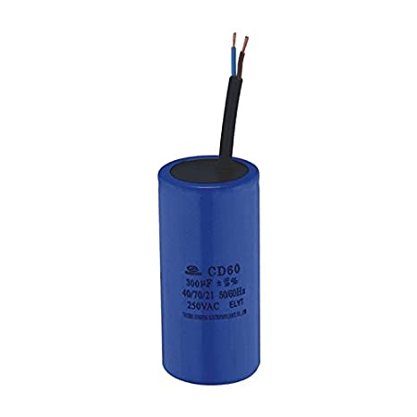 Nos 450 VAC 300uF aparato Motor Start Run Capacitor CD60: Amazon.es: Hogar
